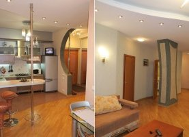 Снять - фото. Снять двухкомнатную квартиру посуточно без посредников, Мурманск, проспект Ленина, 78 - фото.