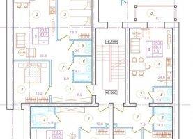 Продается однокомнатная квартира, 50.9 м2, Псковская область, Советская улица, 96